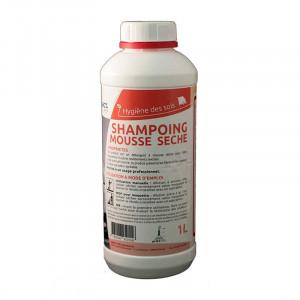 Shampoing mousse sèche pour moquettes, tapis - 1 litre