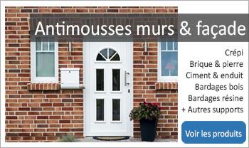 Produit anti mousse toiture fongicide efficace fongistop - Anti mousse murs exterieurs ...