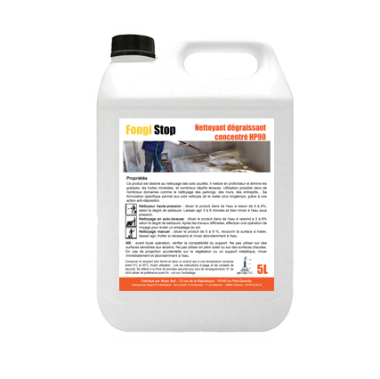 Nettoyant dégraissant sols et murs ultra concentré - 5 litres