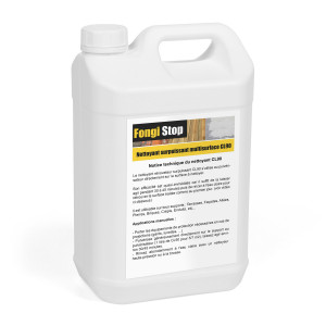 Nettoyant surpuissant multisurface à base de chlore actif CL90 - 5L