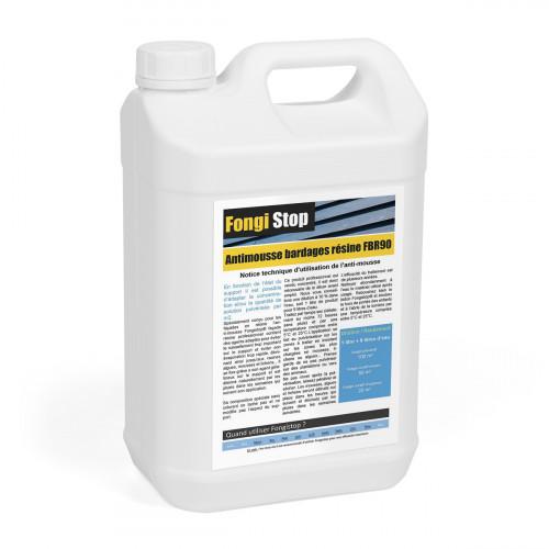 Anti-mousse façade bardages résine, ultra concentré FBR90 - 5 litres