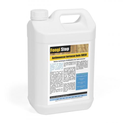 Anti-mousse Terrasse en Bois Prêt à l'Emploi SB50 - 5 litres