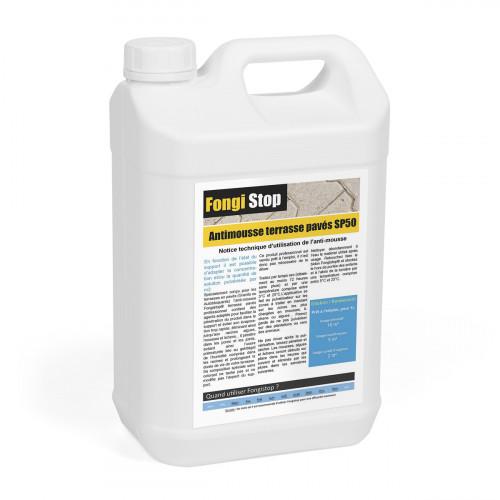 Anti-mousse Terrasse en Pavés Prêt à l'Emploi SP50 - 5 litres