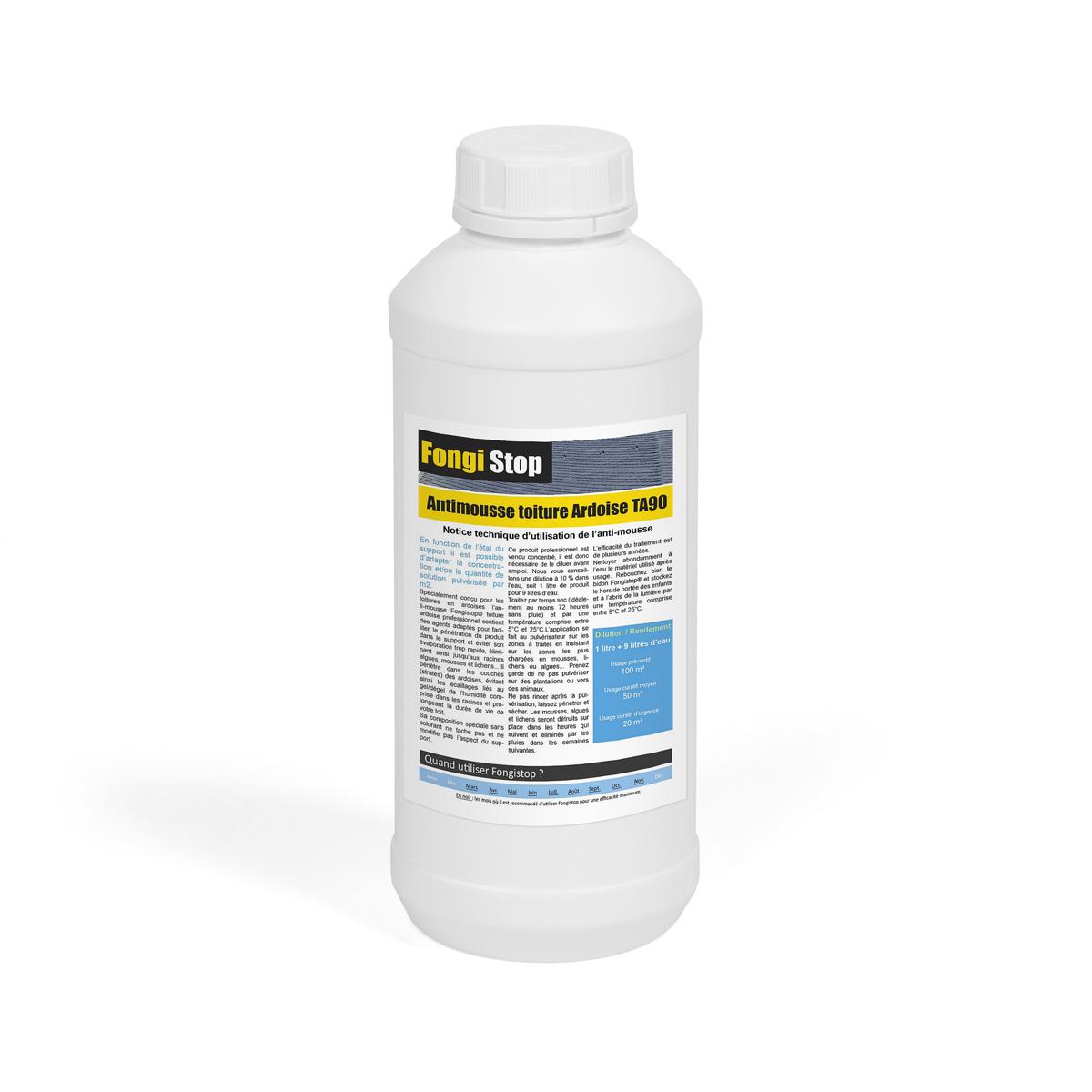 Meilleur Anti Mousse Toiture : produit pour d mousser un toit en ardoise ~ Edinachiropracticcenter.com Idées de Décoration