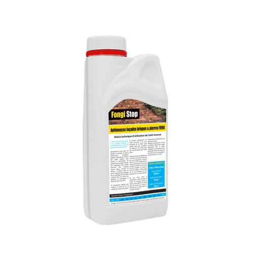 Anti-mousse mur briques et pierres, ultra concentré FB90 - 1 litre