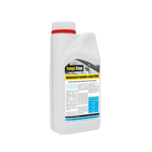 Anti-mousse mur crépi, ultra concentré FC90 - 1 litre