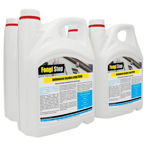 Anti-mousse mur crépi, ultra concentré FC90 - 20 litres