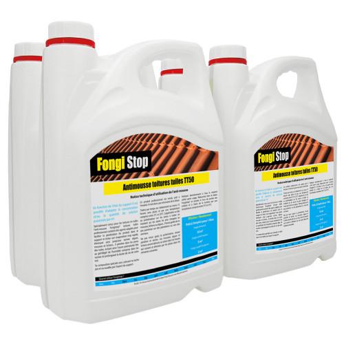 Anti-mousse toiture Tuiles Prêt à l'Emploi TT50 - 20 litres